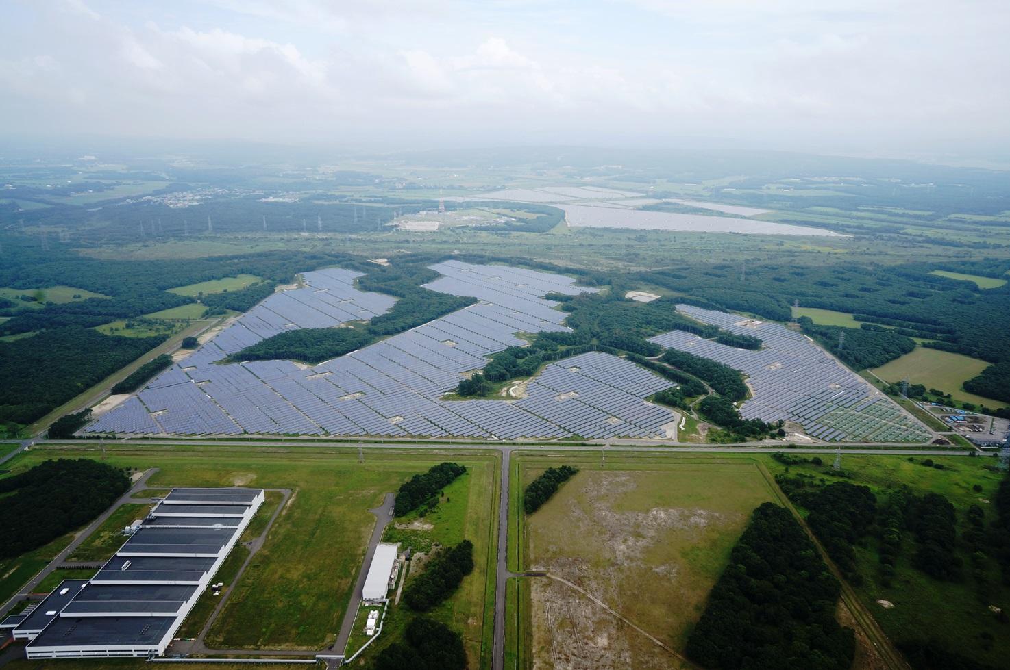 シャープ苫東の森太陽光発電所